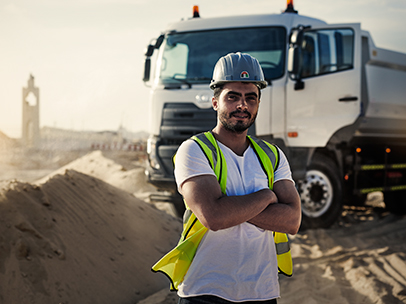 UD Trucks Quester Middle East
