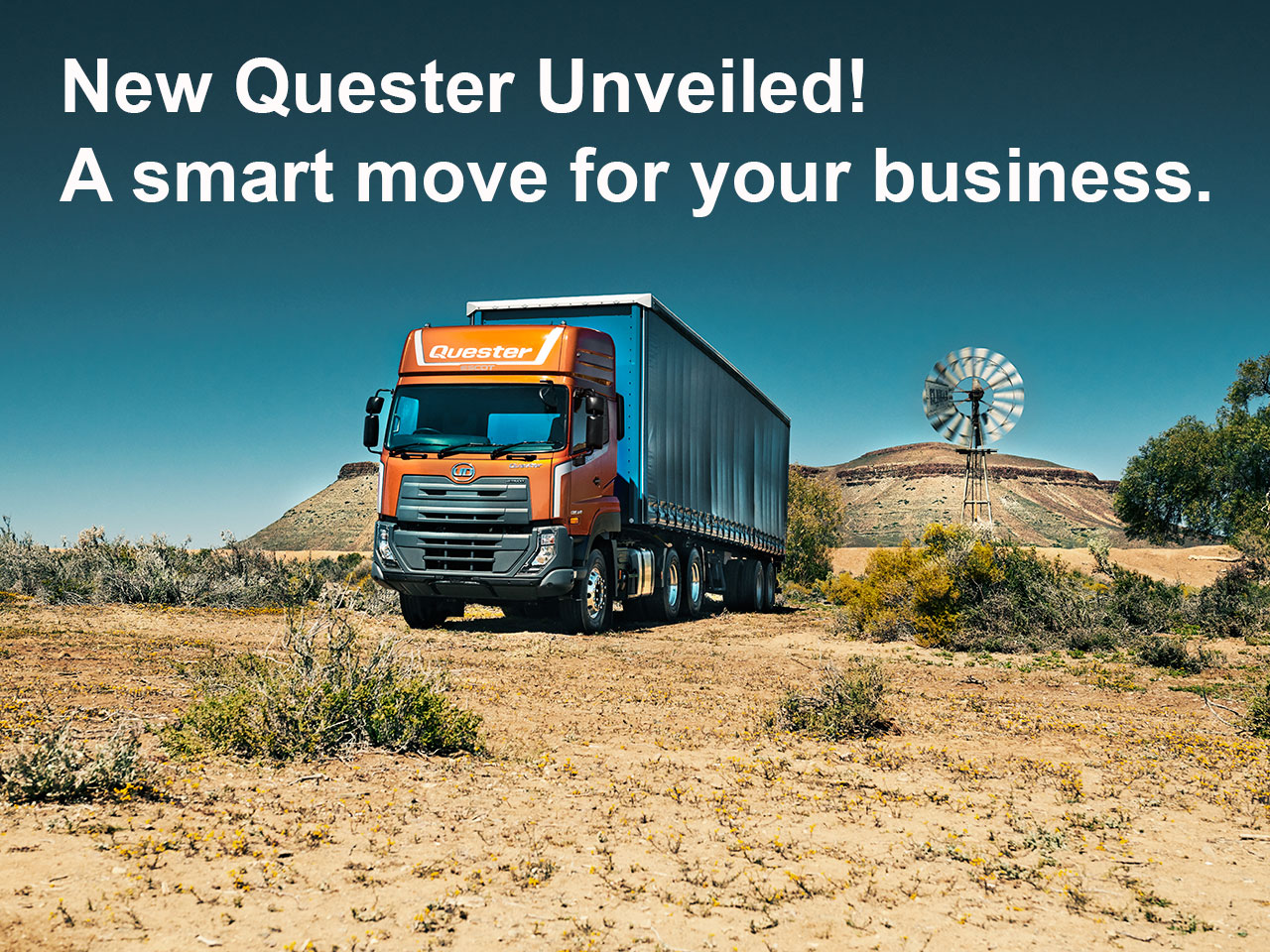 UD Trucks New Quester 2019 reveal