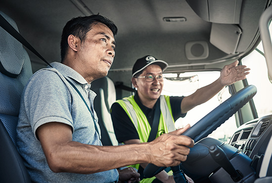 UD Trucks New Quester driver trainer