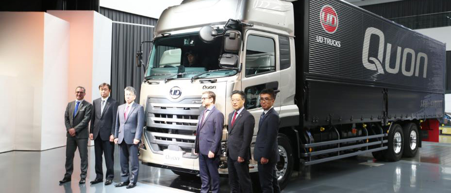 UD Trucks New Quon Press Day 2017