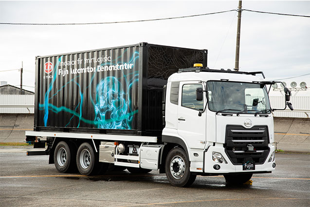 UD Trucks Reveals First Demonstration of Level 4 Automation