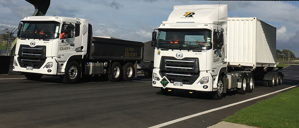UD Trucks New Quon New Zealand launch