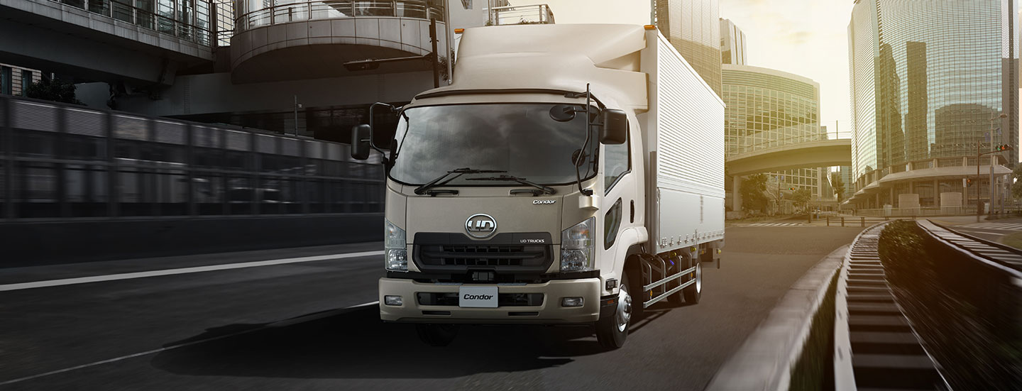 UD Trucks Condor fuel efficiency