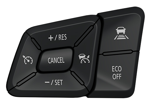 UD Trucks New Quon traffic eye cruise control