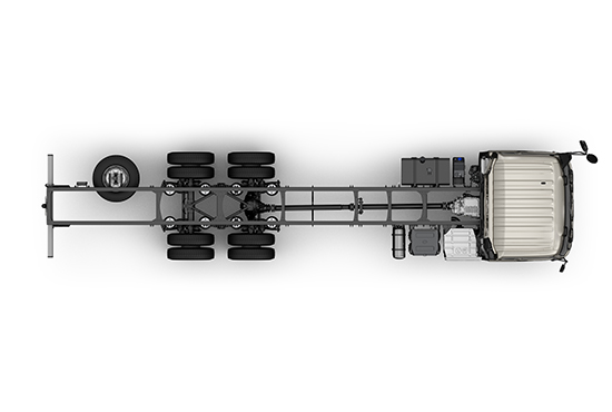 UD Trucks New Quon chassis