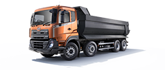 UD Trucks view range New Quester CGE