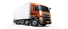 UD Trucks view range New Quester CQE