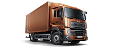 UD Trucks view range New Quester CKE