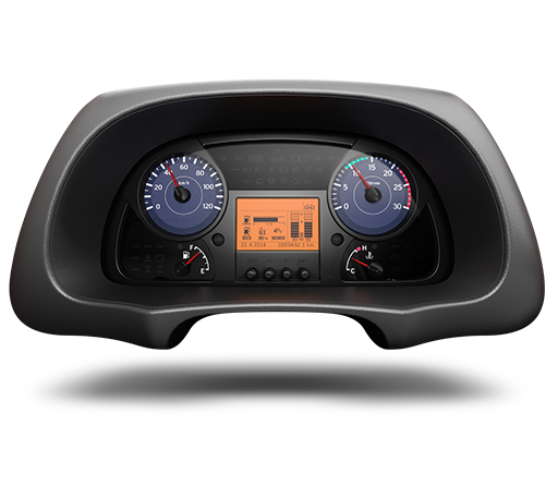 UD Trucks Quester instrument panel