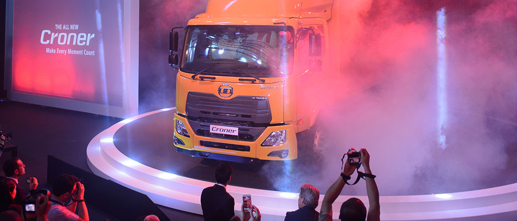 UD Trucks Croner reveal in Thailand 2017