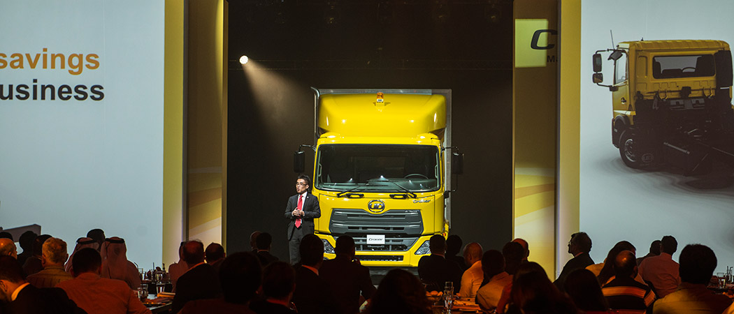 UD Trucks Croner Middle East launch