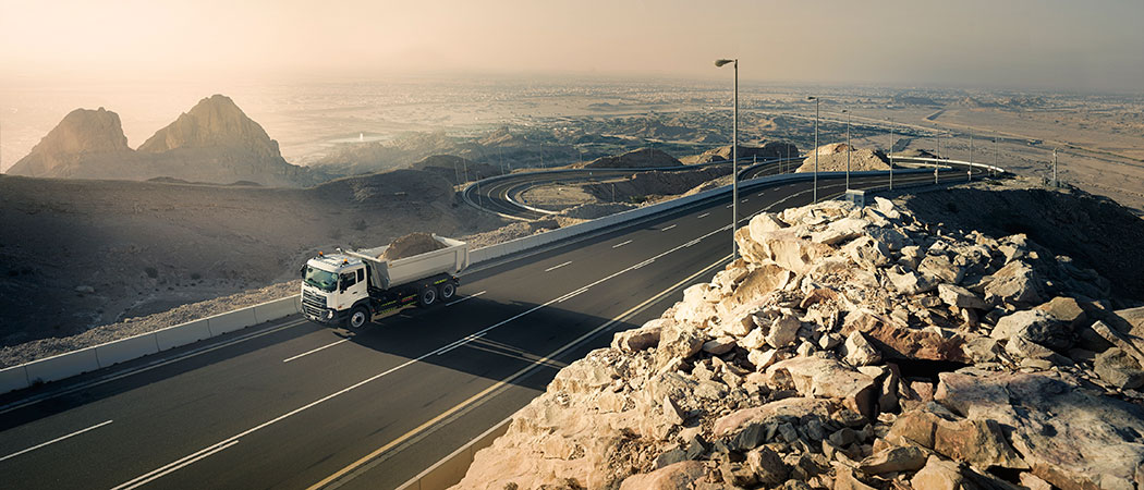 UD Trucks Croner in the Middle East