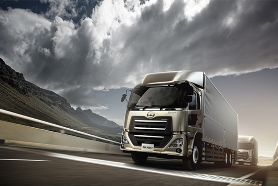 UD Trucks New Quon Fuel Efficiency