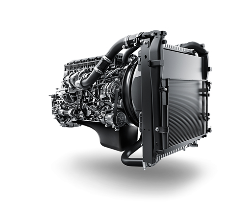 UD Trucks Quester 8L engine